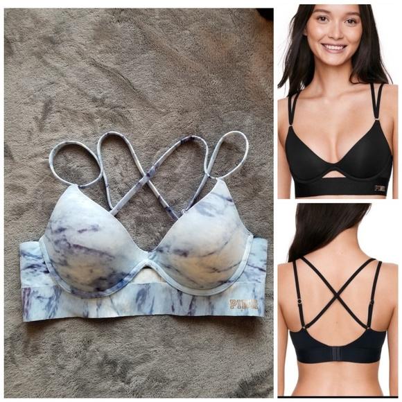 5951d1c9d1c03 PINK Victoria's Secret BONDED push-up bra